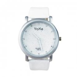 Dámske náramkové hodinky s glitrami