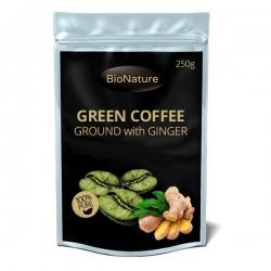BIONATURE Zelená káva so zázvorom  250 g