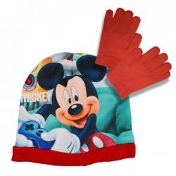 Súprava čiapka a rukavice Mickey Mouse