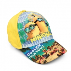 Gyerek siltes sapka Minyon - Cooler than you sárga