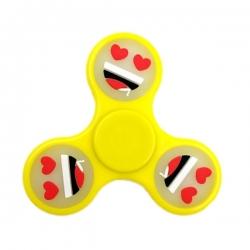Antistresová hračka Hand Spinner - čierna výplň