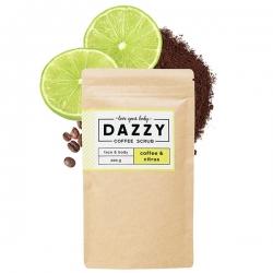 DAZZY Kávézaccos testradír citrusokkal, 200g