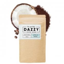 DAZZY Kávézaccos bőrradír kókusszal, 200g