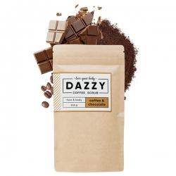 DAZZY Kávézaccos bőrradír csokoládéval, 200g