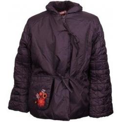 Lányos lila tollas kabát 152es méret