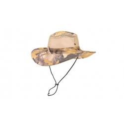Maszkácsos kalap -szürkés sárga