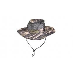Maszkácsos kalap - szürkészöld