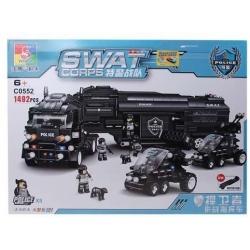 SWAT Kamion építőkészlet
