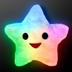 LED Vankúš Happy Star