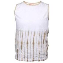 Gyermek ujjatlan póló bézs színben 140méret