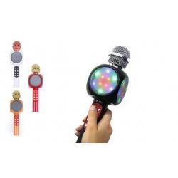 WS-1816 Karaoké mikrofon fekete