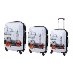 Bőrönd készlet (Big Ben) - 3db