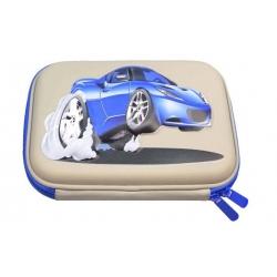 Tolltartó 1 szintes 3D szürke autó