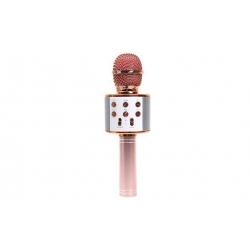 WS-858 Karaoké mikrofon rosegold
