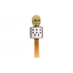 WS-858 Karaoké mikrofon Gold
