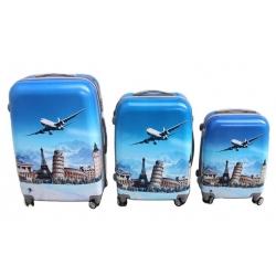 Bőrönd készlet (aircraft) - 3db