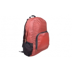 Összecsukható lazac szinű utazási hátizsák