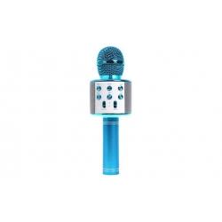 WS-858 Karaoké mikrofon kék
